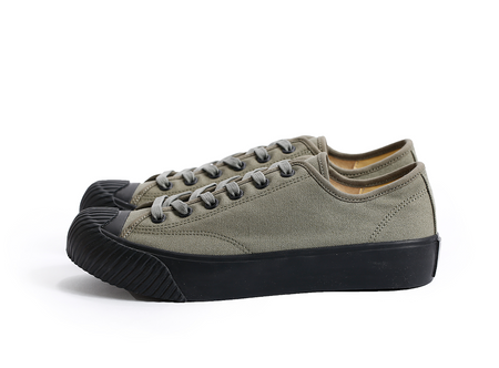 Dublinware Cork Khaki & Black Vulcanised Sneakers , Trainers, Dublinware, Working Title