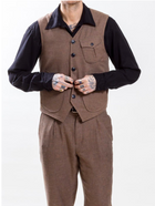 Uncle Bright Harry Cotton & Linen Pocket Waistcoat
