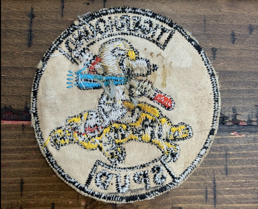 Snoopy USAF 20th TASS Spectre Gunship Tigerhound Spud Patch