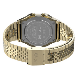 Timex T80 x PAC-MAN™ 34mm Stainless Steel Bracelet Watch - Gold