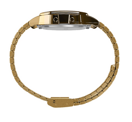 Timex T80 34mm Stainless Steel Bracelet Watch - Gold Tone
