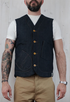 Hens Teeth Italian Selvedge Denim Vest