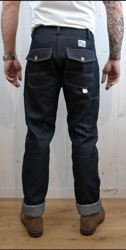 Hen's Teeth Work Pant - Denim