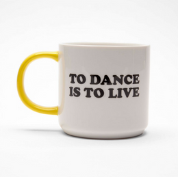 Magpie Line Snoopy Peanuts Mug - To Dance Is To Live