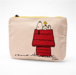 Magpie Snoopy & Peanuts Pouch - Gang & House