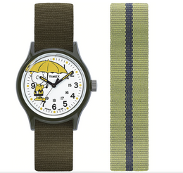 Timex Archive MK1 Charlie Brown Watch Gift Set