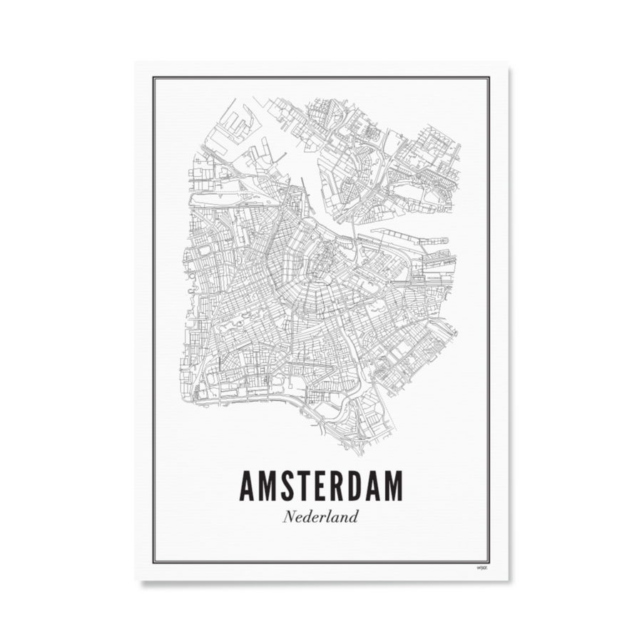 WIJCK. Amsterdam 30X40CM Poster , Poster, WIJCK, Working Title Clothing