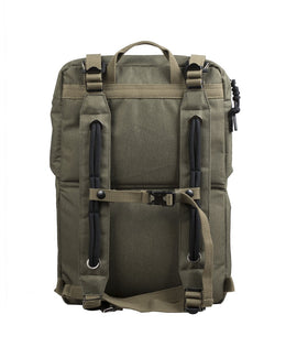 Doughnut Rucksacks Rolling Hill - Army Green , Rucksacks, Doughnut, Working Title