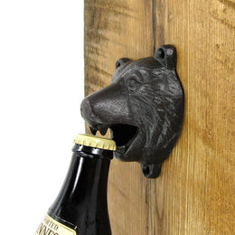 Molly Jogger Bear Wall Bottle Opener , Bottle Opener, Molly Jogger, Working Title