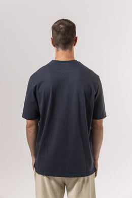 Unfeigned Gear Premium Basic Organic T-Shirt - Blue Graphite