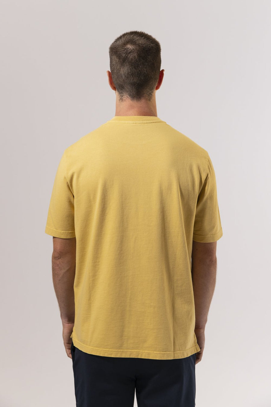 Unfeigned Gear Premium Basic Organic T-Shirt - Rattan Yellow