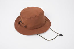 Doughnut Rucksacks Crest Bucket Hat - Rust , Hats, Doughnut, Working Title