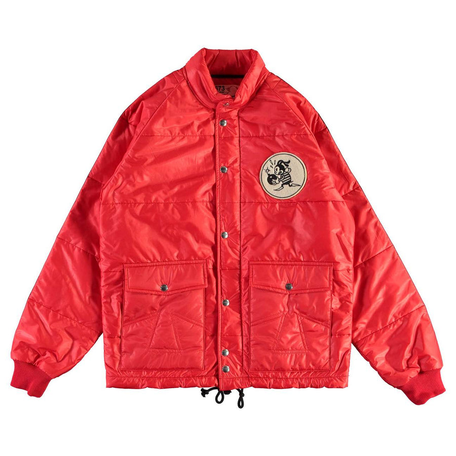 Eat Dust Dragstar Jacket Quilted - Red