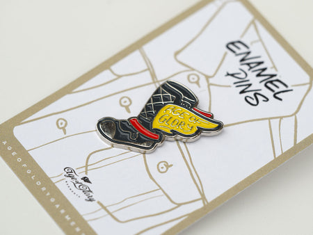 Age Of Glory Flying Boots Pin