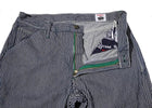 Left Field NYC Hickory Stripe Mt Vernon Work Denim Uniform , Trousers/Chino, Left Field NYC, Working Title