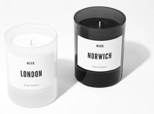 Wijck Norwich Candle Black Edition , Scented Candles, WIJCK, Working Title