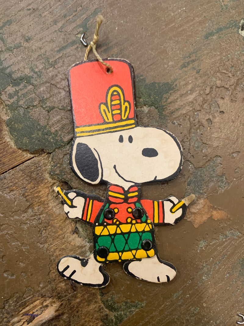 Snoopy Poseable 1958 Christmas Decoration