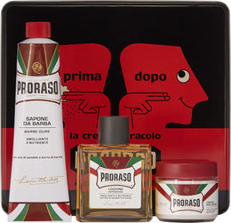 Proraso Nourishing Vintage Gift Tin Set , Aftershave, Proraso Cologne, Working Title