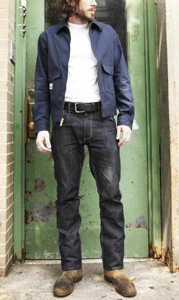 Left Field NYC Work Uniform 13oz Cone White Oak Broken Twill , Trousers/Chino, Left Field NYC, Working Title