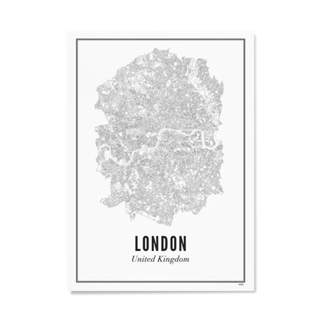 WIJCK. London 30X40CM Poster , Poster, WIJCK, Working Title