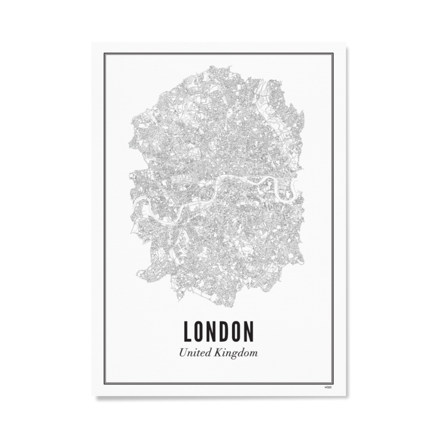 WIJCK. London 30X40CM Poster , Wall Art, WIJCK, Working Title