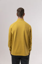 Unfeigned Gear Long Sleeve Smock Neck T-Shirt - Sauterne Yellow