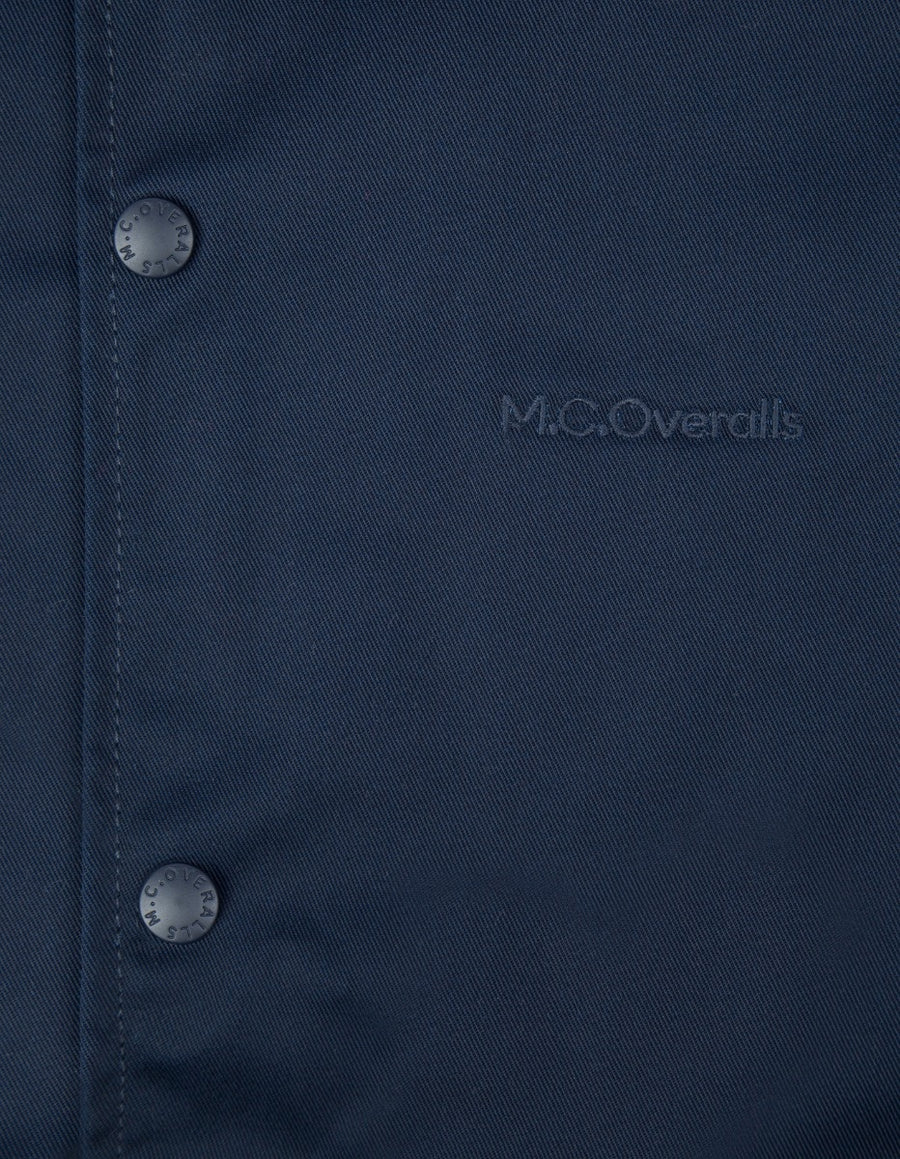 McOveralls Poly Cotton Coach Jacket , Jackets, M.C.Overalls, Working Title Clothing