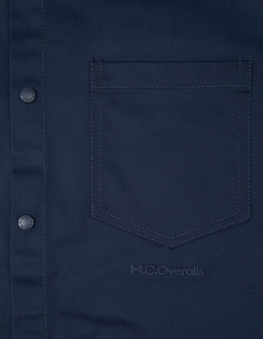 McOveralls Poly Cotton Snap Shirt , Shirts, M.C.Overalls, Working Title Clothing