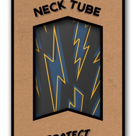 Age Of Glory Bolts Neck Tube - Black/Blue/Yellow