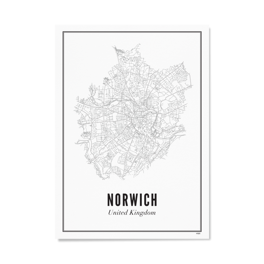 WIJCK. Norwich 30X40CM Poster , Poster, WIJCK, Working Title Clothing
