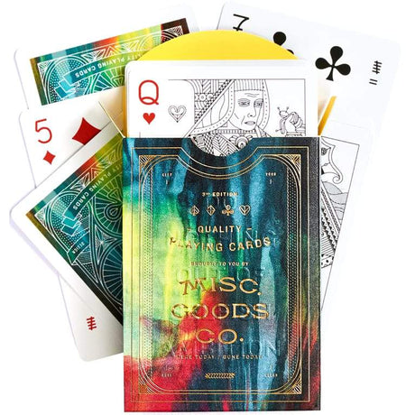 Misc Goods Co. Playing Cards Multi Cina Deck , Playing Cards, Misc Goods Co., Working Title