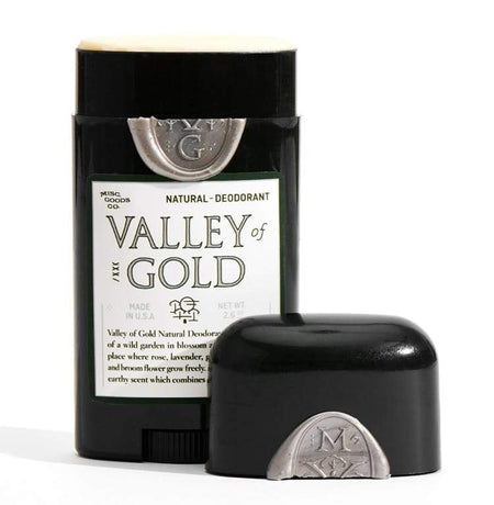Misc Goods Co. Natural Deodorant Valley Of Gold , Deodorant, Misc Goods Co., Working Title