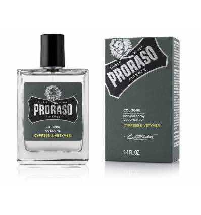 Proraso Eau De Cologne Cypress & Vetyver 100ml , Eau De Cologne, Proraso Cologne, Working Title Clothing