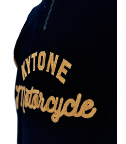 Kytone Racer Embroidered Chainstitch Sweatshirt , Sweatshirt, Kytone, Working Title