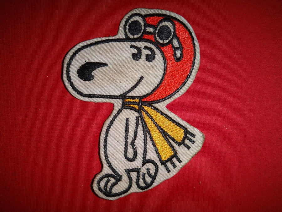 Snoopy Vietnam War Patch USAF 433rd Tactical Fighter Squadron , Patch, Art + Object, Working Title