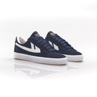 Warrior Shanghai Dime Suede Basketball Shoe - Navy