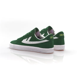 Warrior Shanghai Dime Suede Basketball Shoe - Bottle Green
