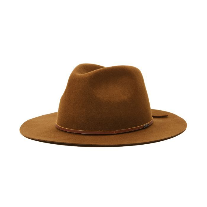 Brixton Wesley Packable Fedora - Coffee