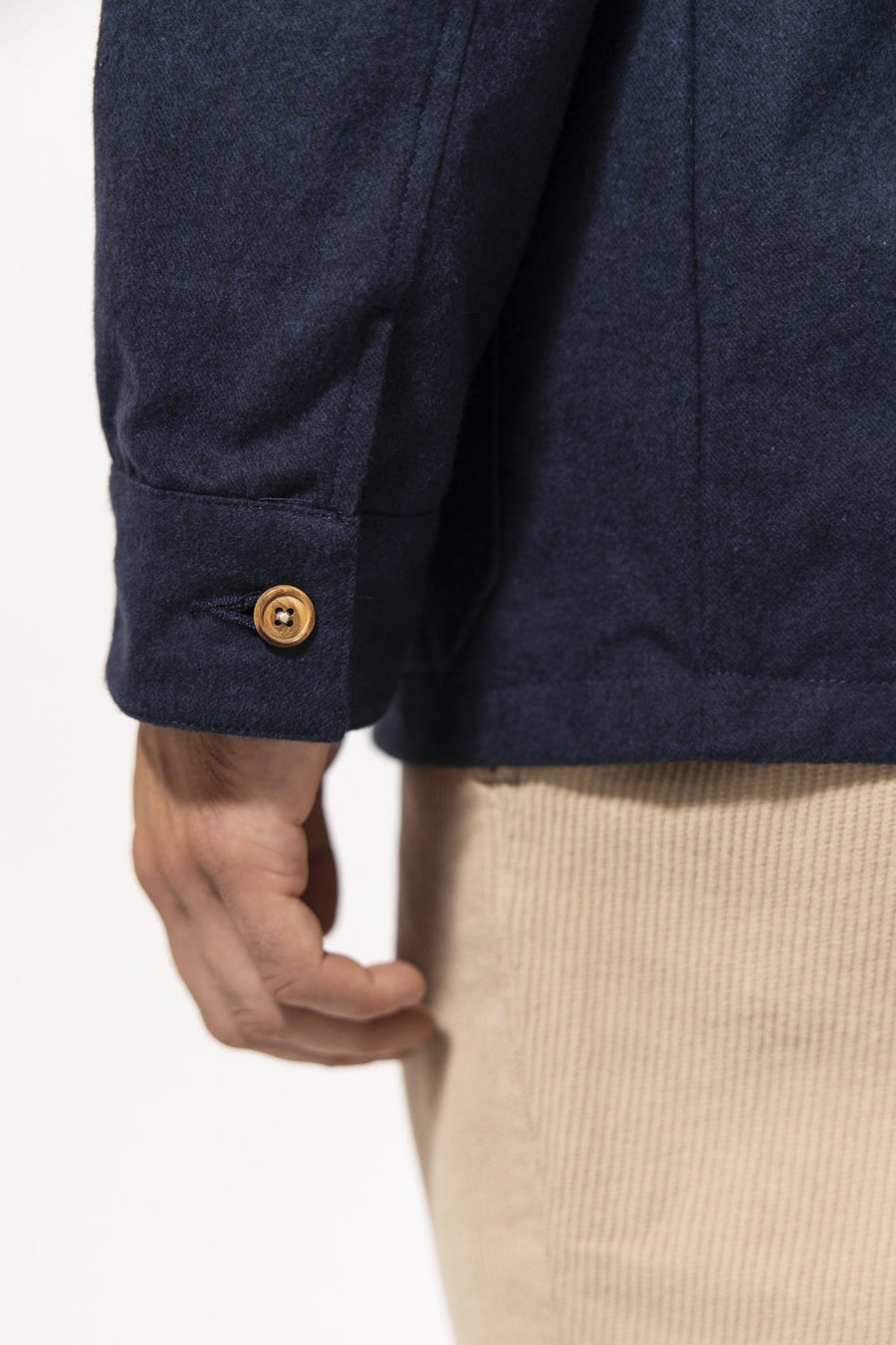 Unfeigned Gear Premium Wool Work Jacket Navy Cloth