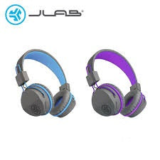 JLab Audio JBuddies Studio On-Ear Folding Kids Wired Headphone with In-Line Mic