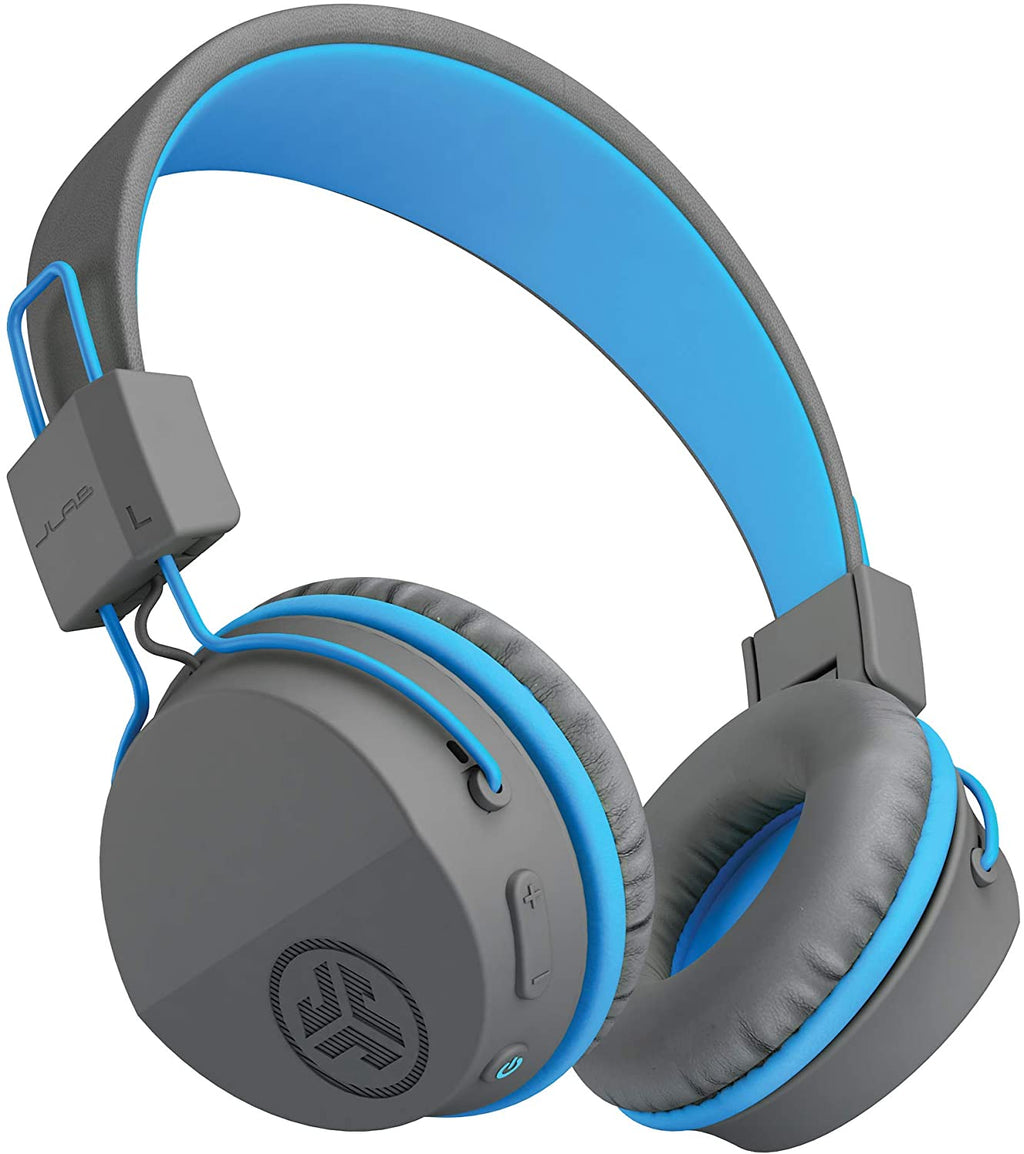 JLab Audio JBuddies Studio Wireless Kids Headphone (Graphite Blue)