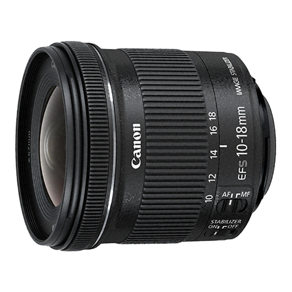 Canon EF-S10-18mm f/4.5-5.6 IS STM Lens