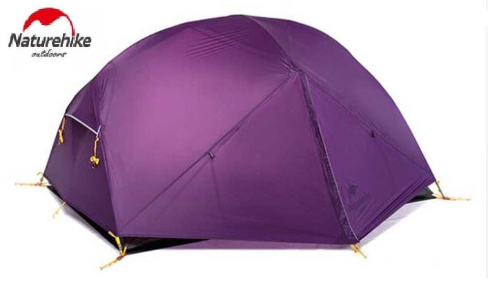 Naturehike Mongar Ultralight 20D Silicone Backpacking Tent (Purple)