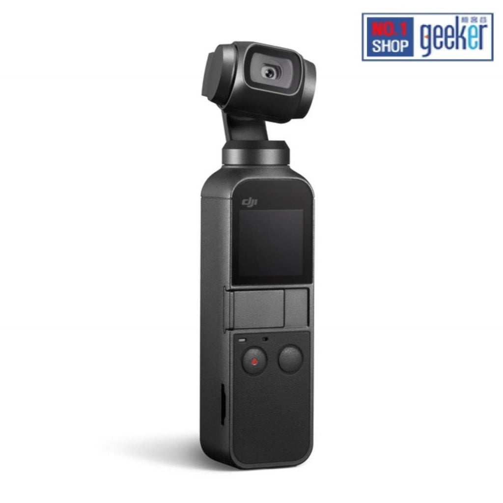 "DJI Osmo Pocket Handheld 3-Axis Gimbal Stabilizer with integrated Camera 12 MP 1/2.3"" CMOS 4K Video"