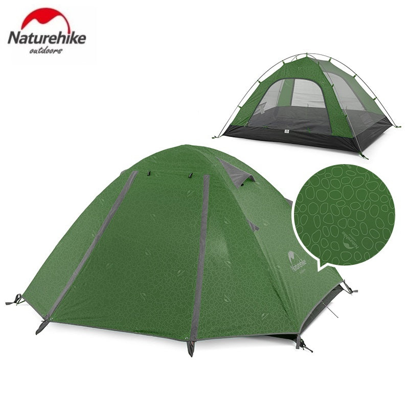 Naturehike P-Series 210T Fabric Aluminum Pole Tent