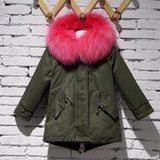 CWS - Hot Pink Kids Parka - childwithstyle
