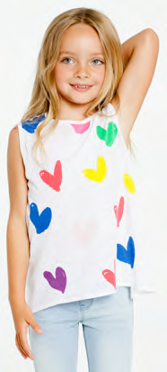 Chaser - Chaser Painted Hearts - childwithstyle