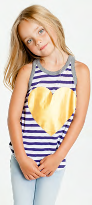 Chaser Kids - Chaser Stripes & Hearts - childwithstyle