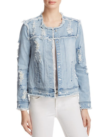 Generation Love - Generation Love Madison Distressed Denim Jacket - childwithstyle