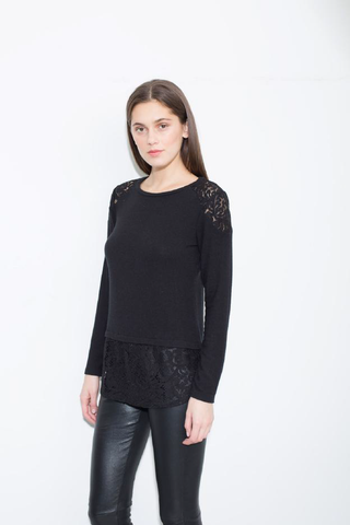 Generation Love - Generation Love Marissa Lace Top - childwithstyle